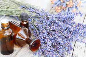 Lavendelöl in Naturseife