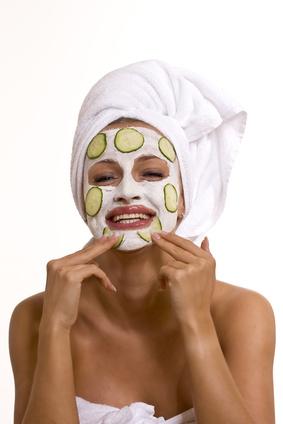 Gesichtsmaske selber machen Gurkenmaske