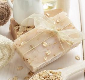 seife selber machen mit hafer milch und honig