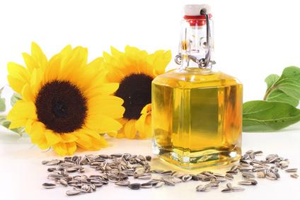 Sonnenblumenöl in Naturseife und Kosmetik