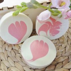 Seifenherstellung - Seife Blume und Swirl