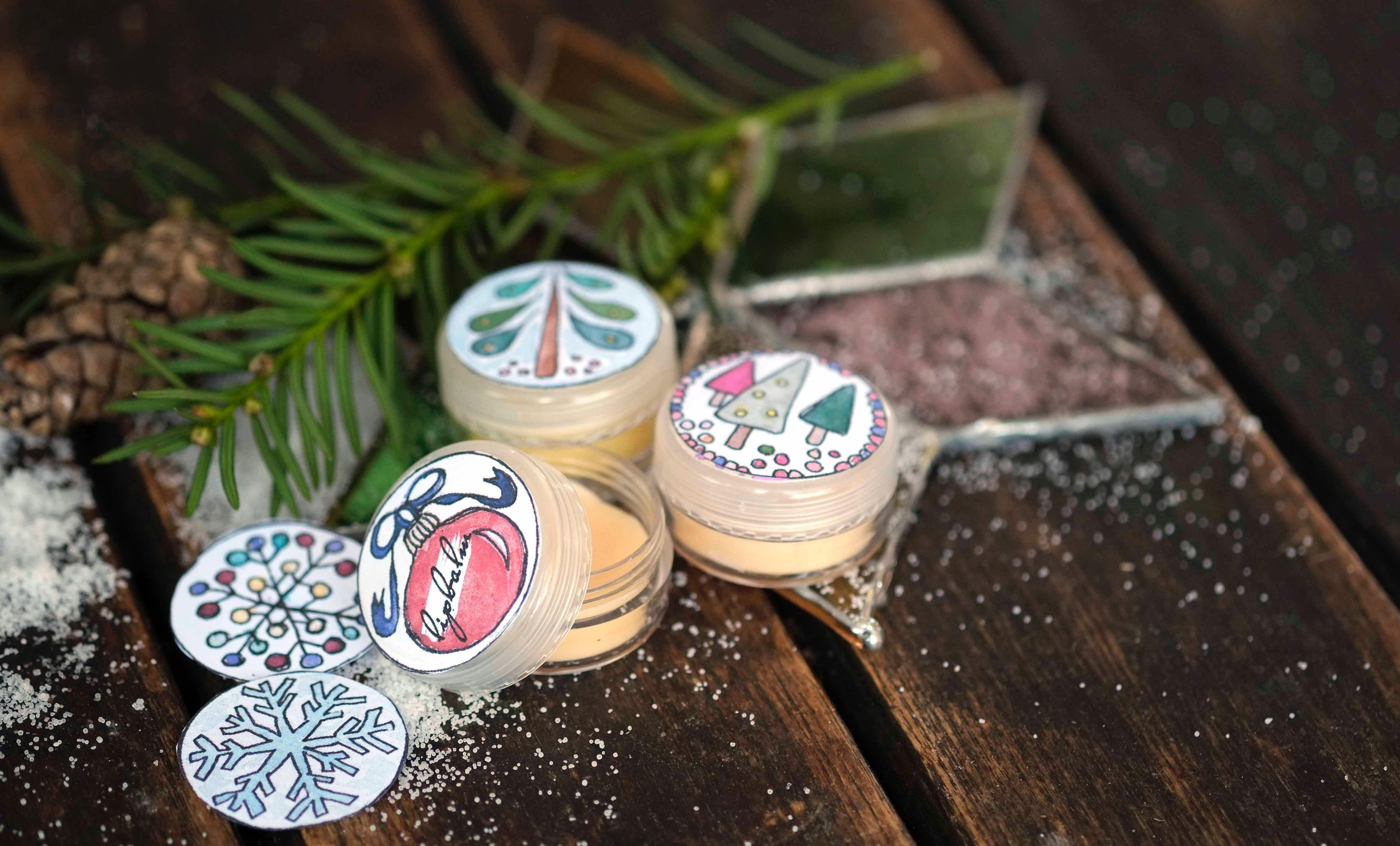 Reichhaltige Lippenpflege Selber Machen Mit Etikettenvorlagen