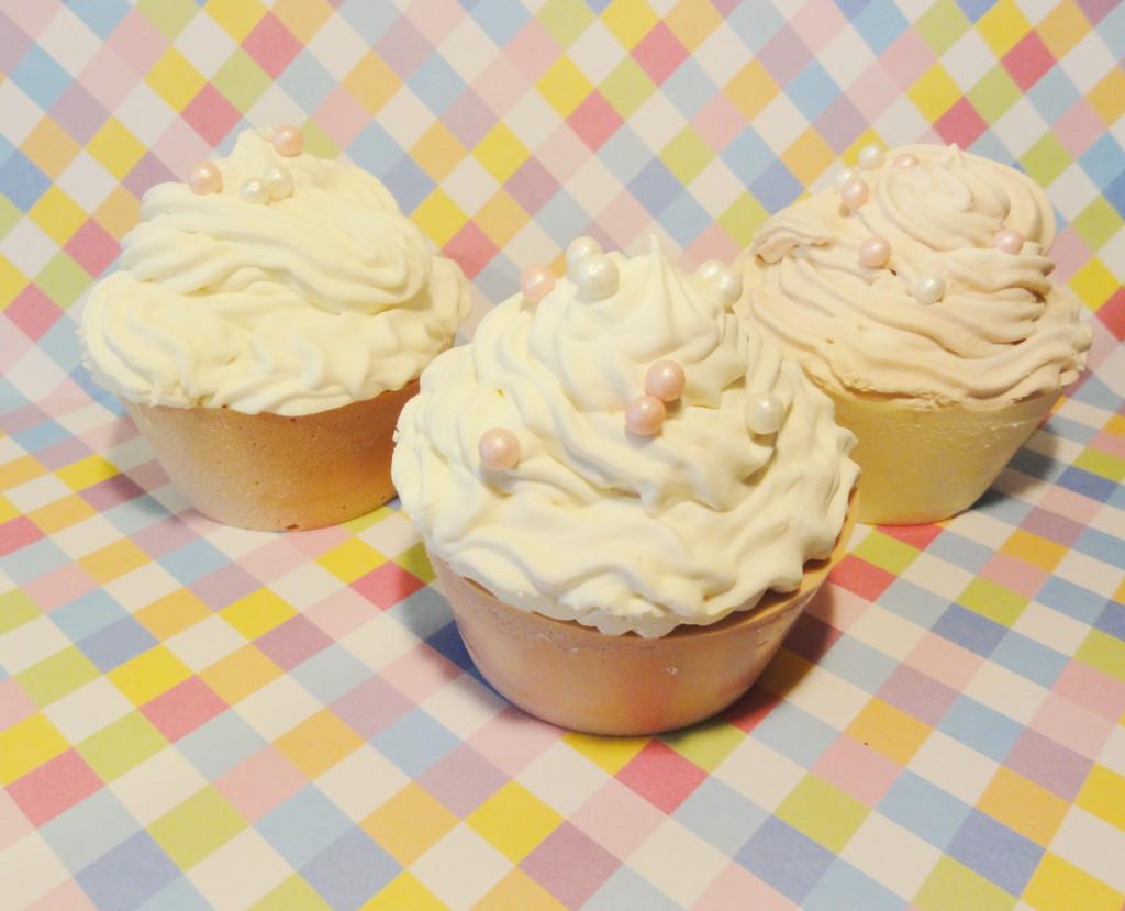 Seifen-Cupcakes selber machen