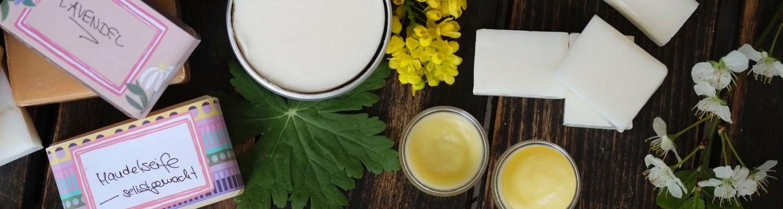 Naturseife und Kosmetik selber machen