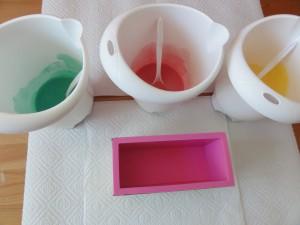Farben und Form bereitstellen