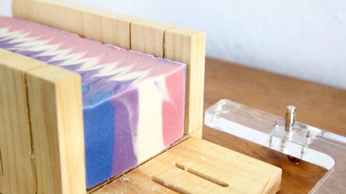 Farbe der Seife
